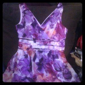 Donna Morgan lined in silk dress, 12